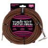 ERNIE BALL Καλώδιο Instrument Braided Καρφί-Γωνία 7